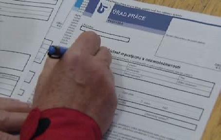 Formulář úřadu práce