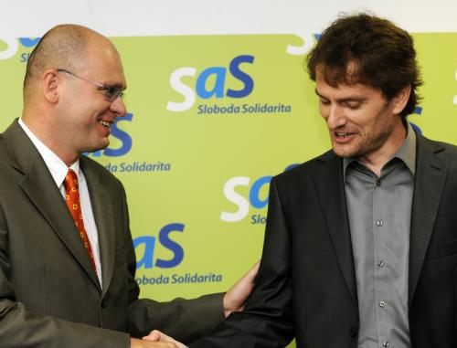 Martin Fecko a Igor Matovič