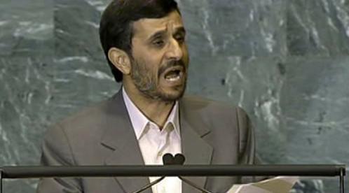 Íránský prezident Mahmúd Ahmadínežád
