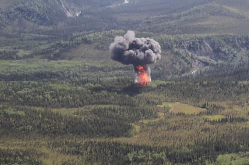 Nehoda letadla nad aljašským parkem Dinali