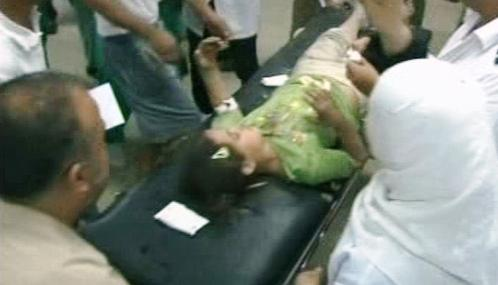 Výbuch rakety v Akabě zranil čtyři lidi