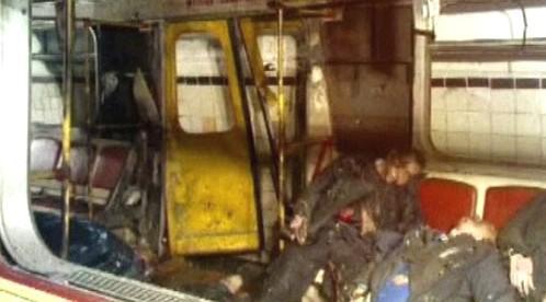 Oběti útoku v moskevském metru