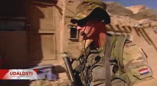 Nizozemský voják v Afghánistánu