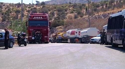 Stávka řidičů v Řecku