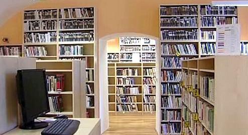 Nová knihovna v Lounech