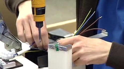 Montáž kabelových svazků