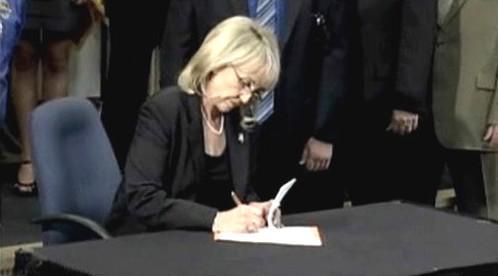 Arizonská guvernérka Jan Brewerová
