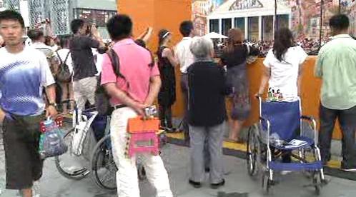(Ne)handicapovaní návštěvníci Expa