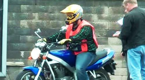 Zkoušky na řízení motocyklu