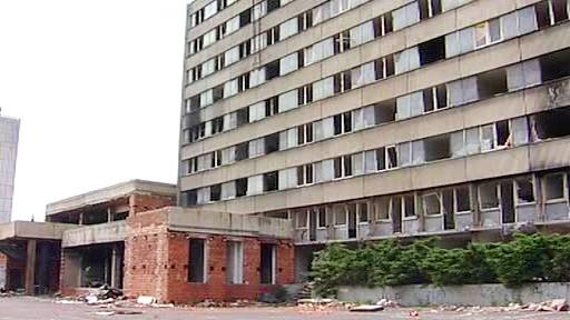 Ruiny hotelu Máj