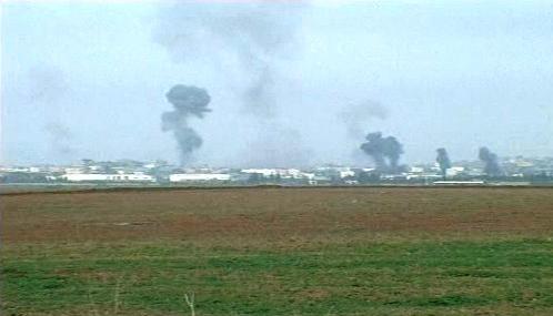 Letecký útok na Gazu