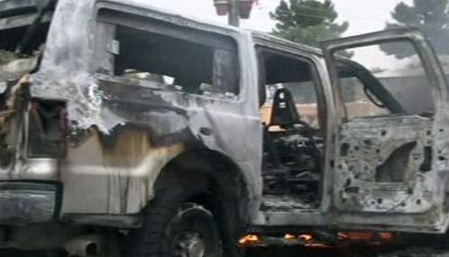 Následky atentátu v Afghánistánu