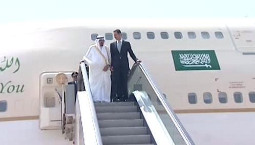 Abdalláh a Bašár Asad