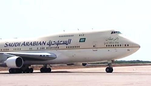 Letadlo saúdskoarabského krále