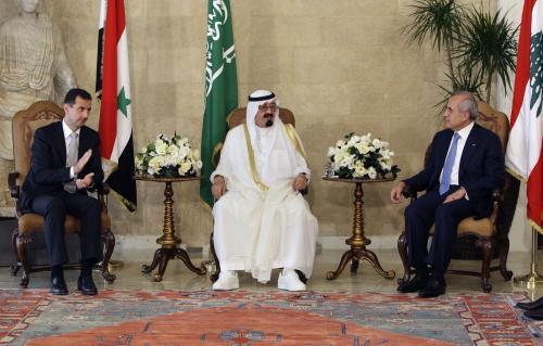 Bašár Asad, Abdalláh a Michel Sulajmán