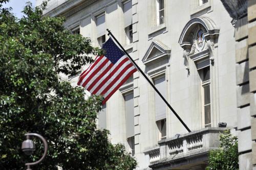 Americká ambasáda v Paříži