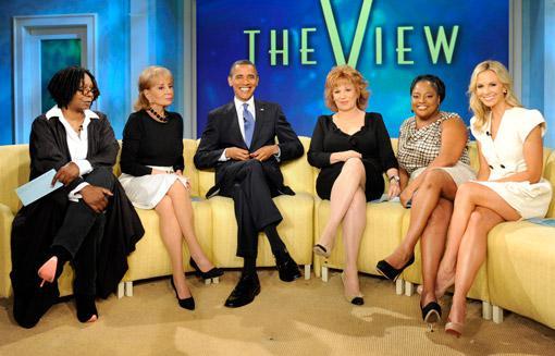 Barack Obama v pořadu The View