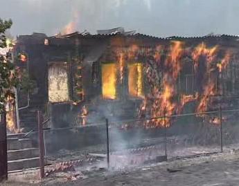 Požáry v Rusku