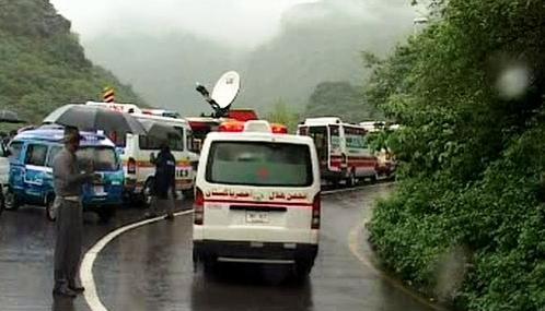 Pákistánští záchranáři