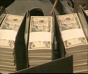 Dolarové bankovky