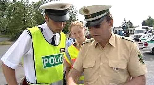 Česko-německá policejní hlídka