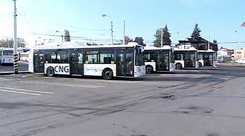 Autobusy na zemní plyn