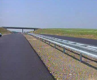 Nový úsek dálnice