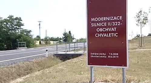 Nový obchvat Chvaletic