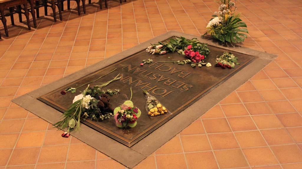 Hrob J. S. Bacha v Lipsku