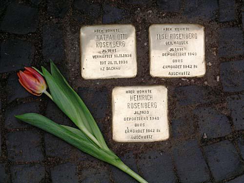 Kameny zmizelých - Stolpersteine