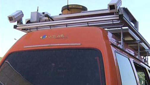Vyhodnocovací systém auta firmy VisLab