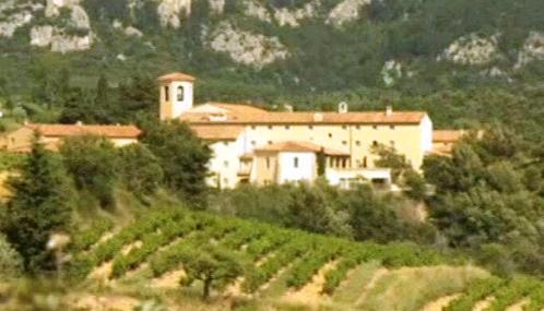 Opatství nedaleko francouzského Avignonu