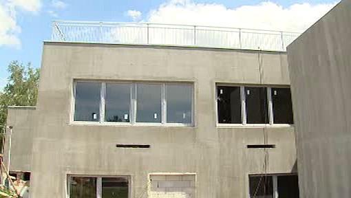 Stavba stacionáře ve Střížkově