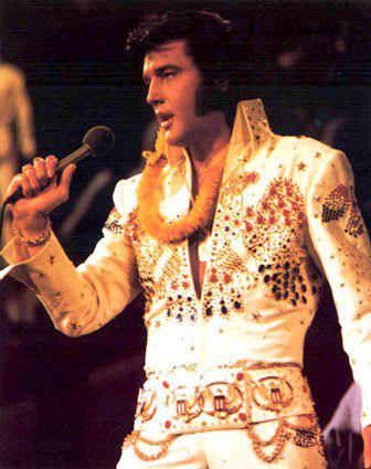 Elvis Presley v slavné vestě