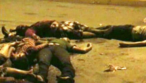 Oběti násilí v Mexiku