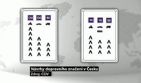 Návrh dopravního značení
