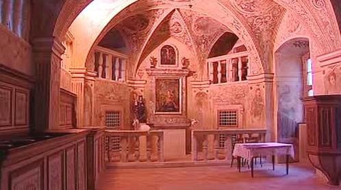 Obnovená kaple sv. Barbory