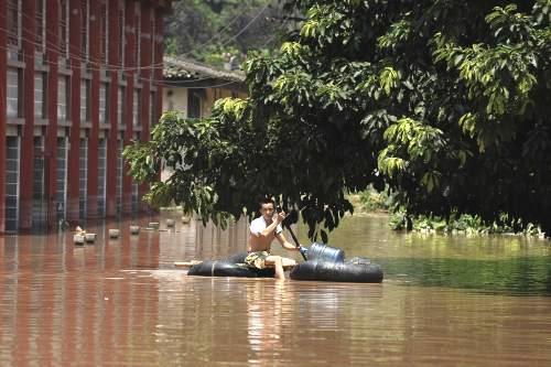 Záplavy v Číně