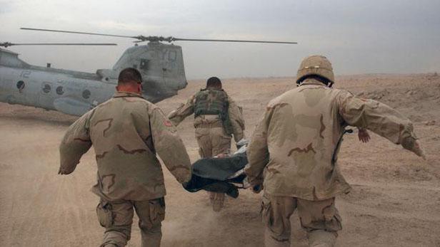 Vojáci ve válce v Iráku