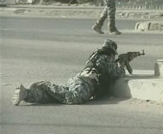 Boje v irácké Basře