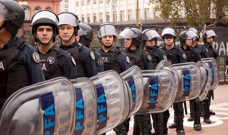 Argentinská policie