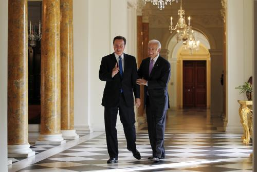 David Cameron a Joe Biden
