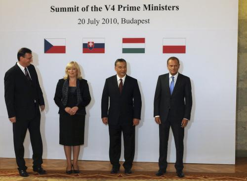 Jednání premiérů Visegrádské čtyřky