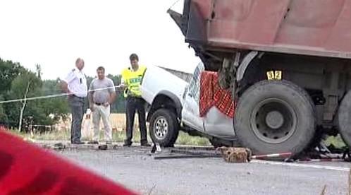 Následky dopravní nehody
