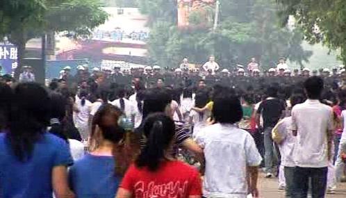 Čínské protesty