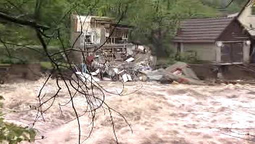 Škody po povodních