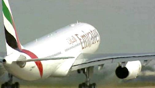 Letadlo aerolinek Amirates