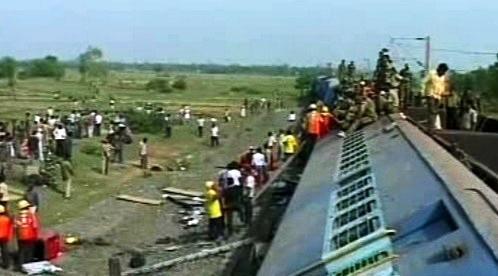 Nehoda vlaku v Indii
