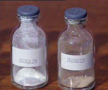 Kokain a heroin