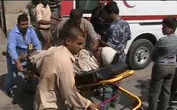 Zraněný při sebevraždném útoku v Bagdádu